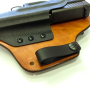 Hybrid Holster with treated edges