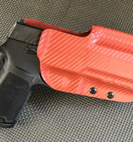 Competition Holster P320 redcarbonfiber