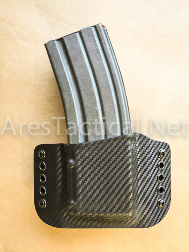 ares tactical 187 rs ar15 single magazine pouch blackred