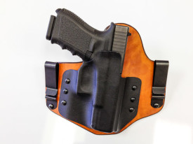 Hybrid Holster with steel clips