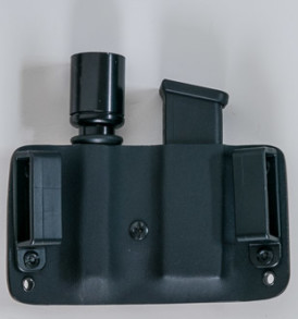 Mag and Light combo pouch back