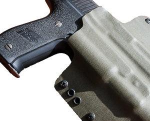 Sig P226 TLR-1 weapon light holster